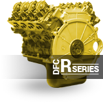 Image of race series engine with powerstroke diesel performance parts in Edmonton.